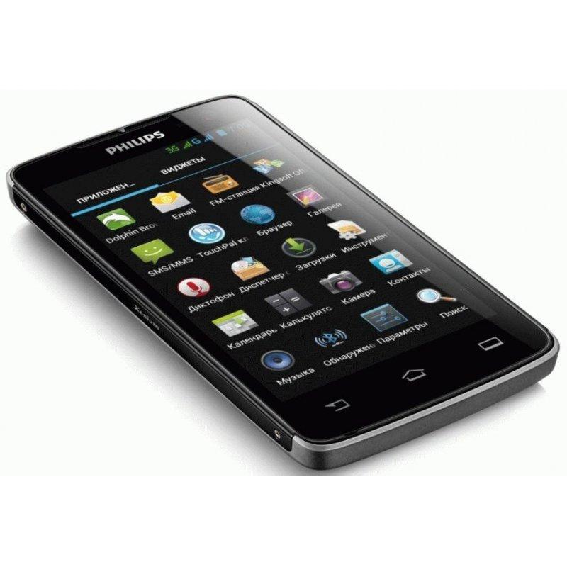 PHILIPS Xenium W732 Dual Sim Black