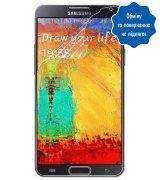 Защитная плёнка для Samsung Galaxy Note 3 N9000 глянцевая