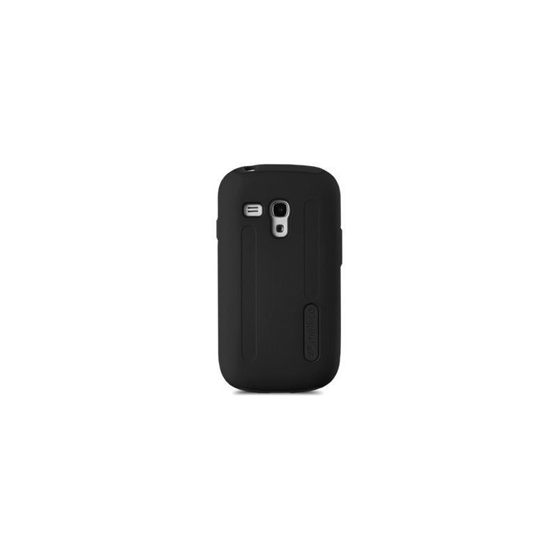 Накладка Melkco Kubalt для Samsung i8190 Galaxy S3 mini Black-Black
