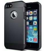 SGP iPhone 5/5S Case Tough Armor Smooth Black (SGP10492)