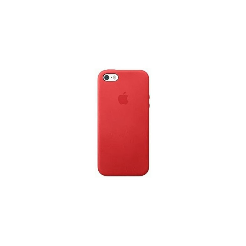 Чехол Apple iPhone 5s Leather Case Red (MF046)