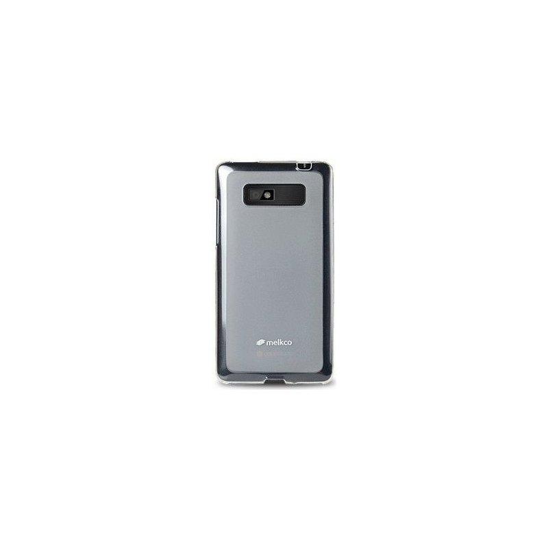 TPU накладка Melkco Poly Jacket для HTC Desire 600 White