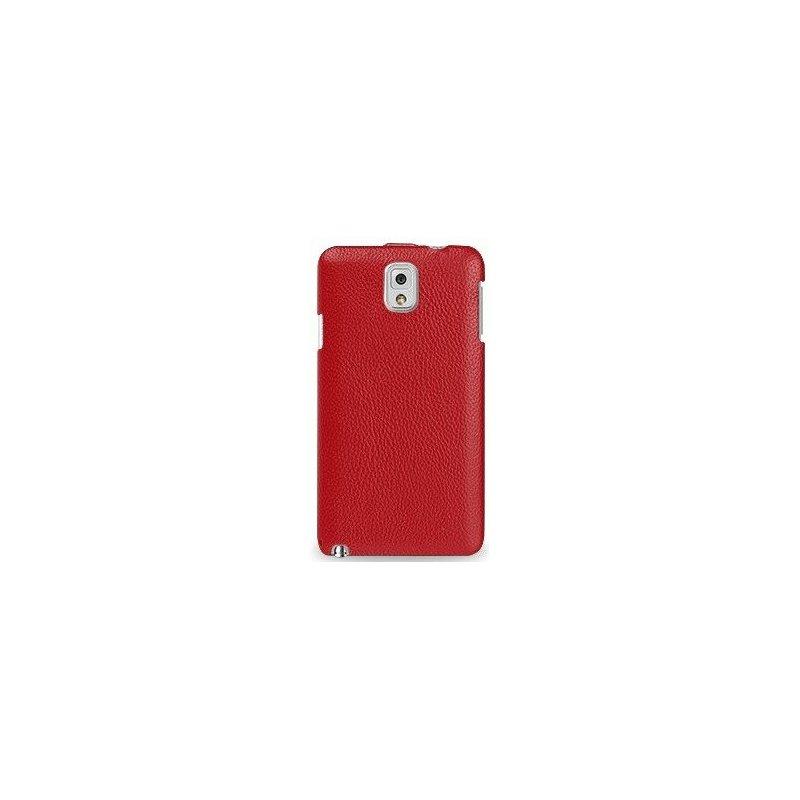 Кожаный чехол Tetded Flip для Samsung Galaxy Note 3 N9000 Red