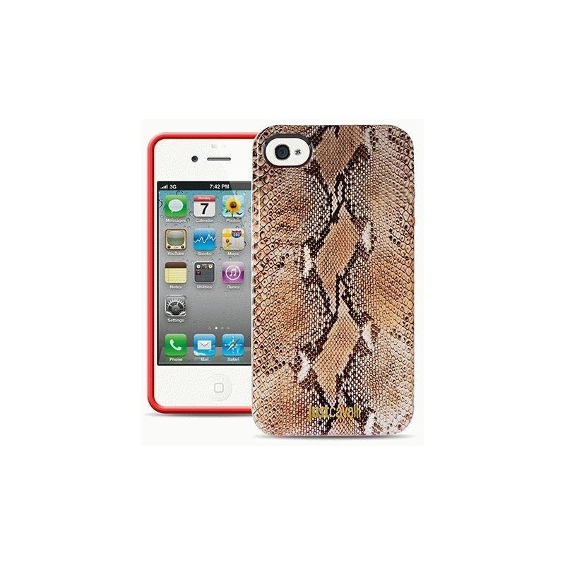 Puro Just Cavalli Micro Piton накладка для iPhone 5/5S Brown