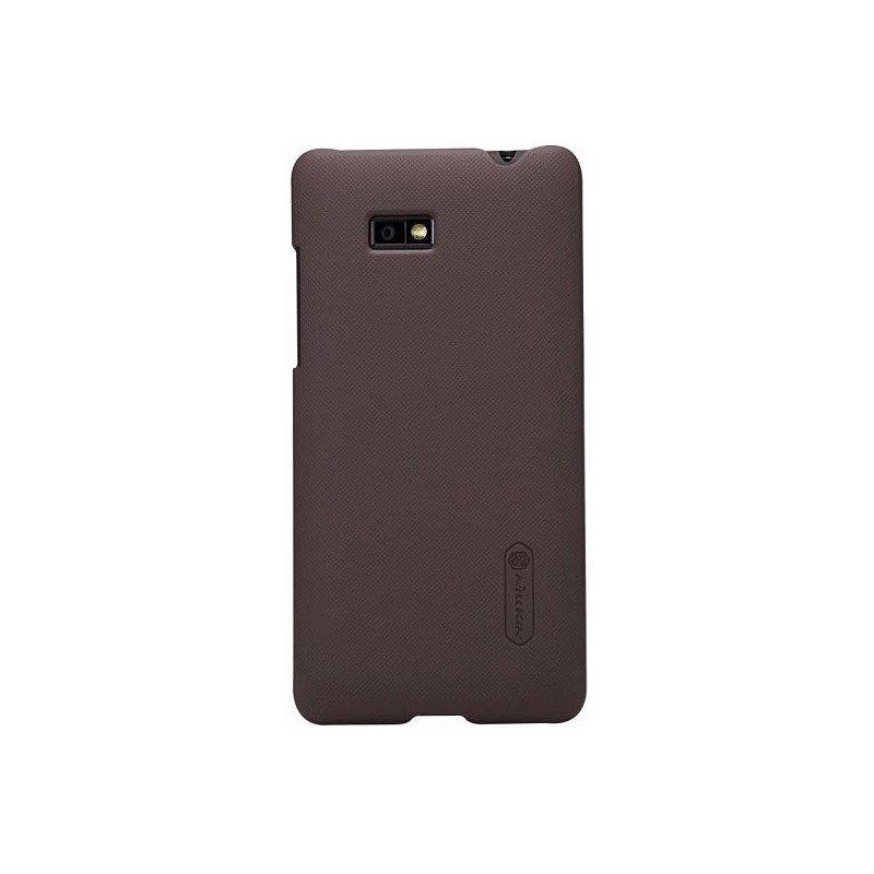 Пластиковая накладка Nillkin Super Frosted Shield для HTC Desire 600 Brown
