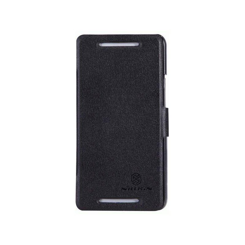 Кожаный чехол Nillkin Fresh Series для HTC One Dual SIM 802w Black