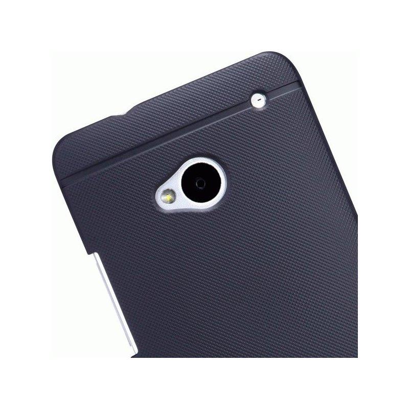 Пластиковая накладка Nillkin Super Frosted Shield для HTC One Dual 802w Black