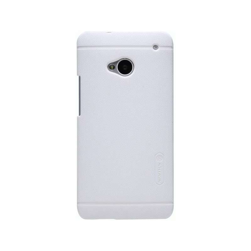 Пластиковая накладка Nillkin Super Frosted Shield для HTC One Dual 802w White