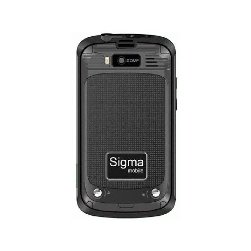 Sigma mobile X-treme PQ11 Black/Green