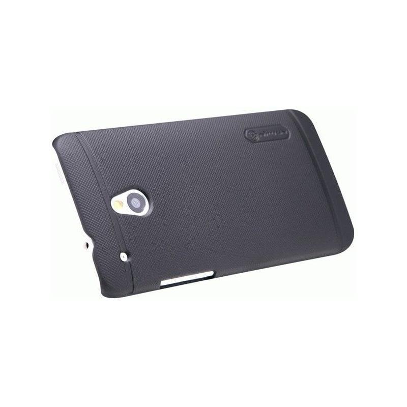 Пластиковая накладка Nillkin Super Frosted Shield для HTC One Mini Black
