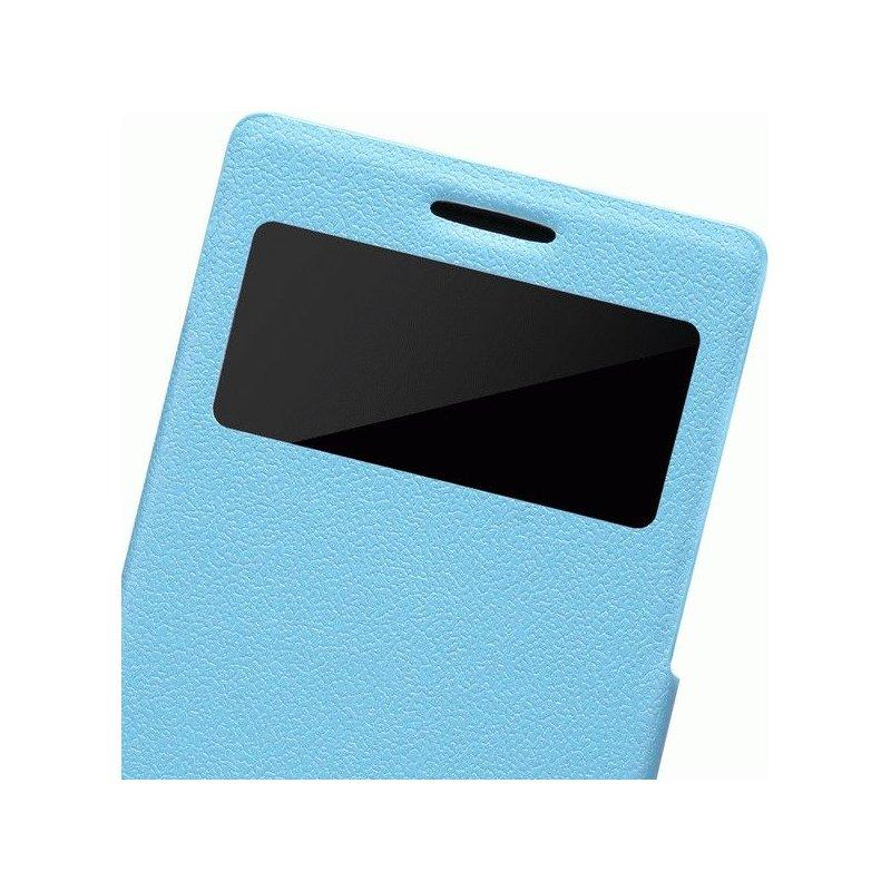 Кожаный чехол Nillkin Fresh Series для Huawei Ascend P6 Blue