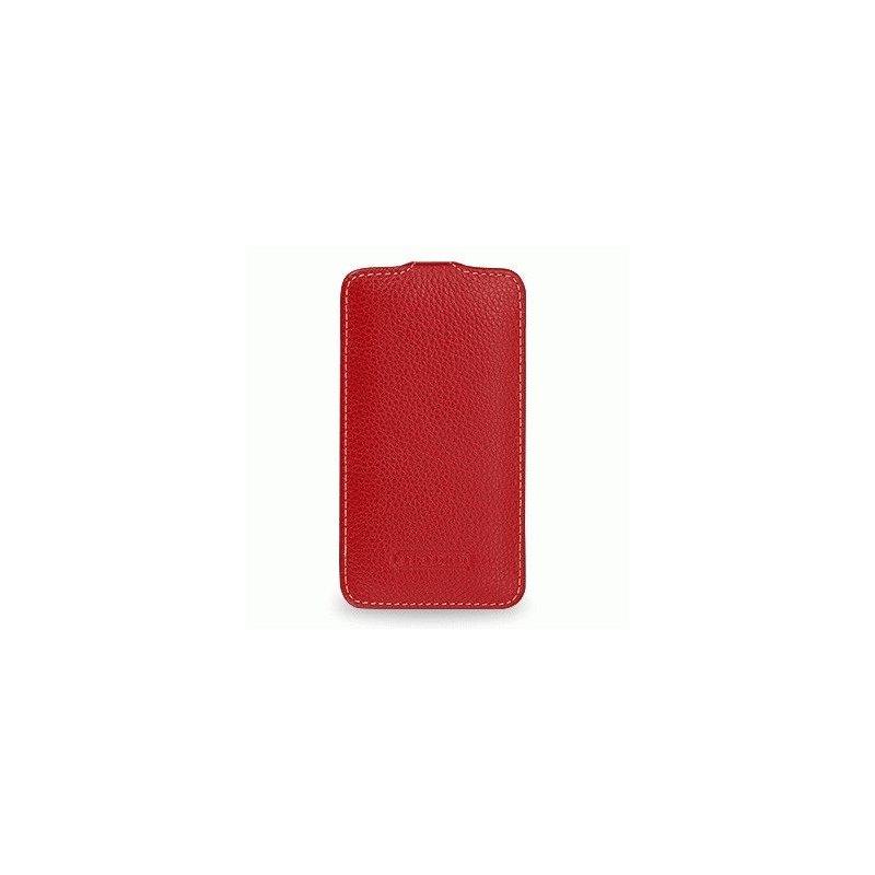 Кожаный чехол Tetded Flip для Samsung Galaxy Ace 3 S7272 Red