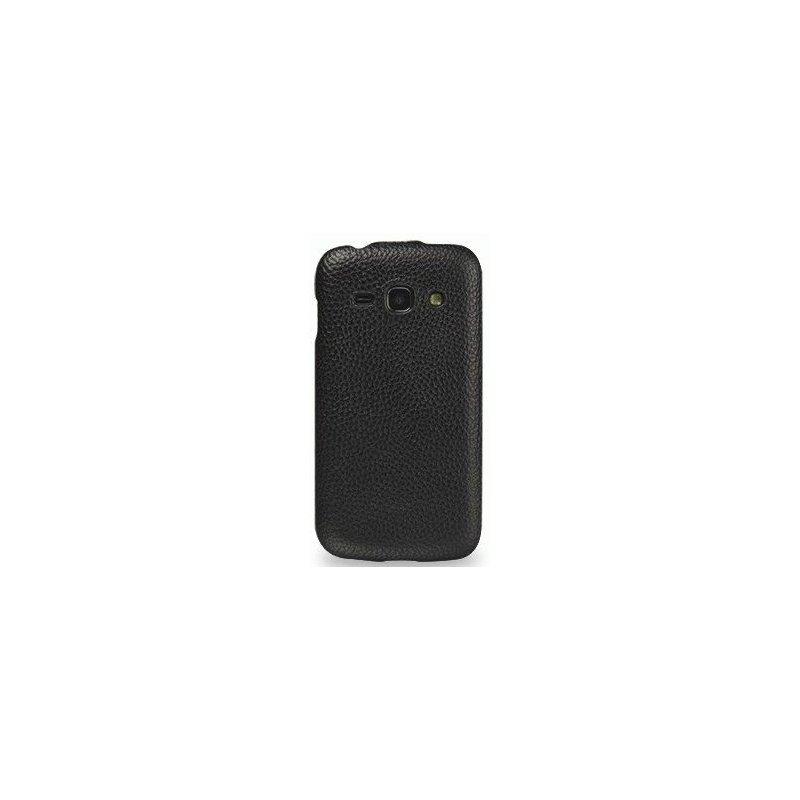Кожаный чехол Tetded Flip для Samsung Galaxy Ace 3 S7272 Black