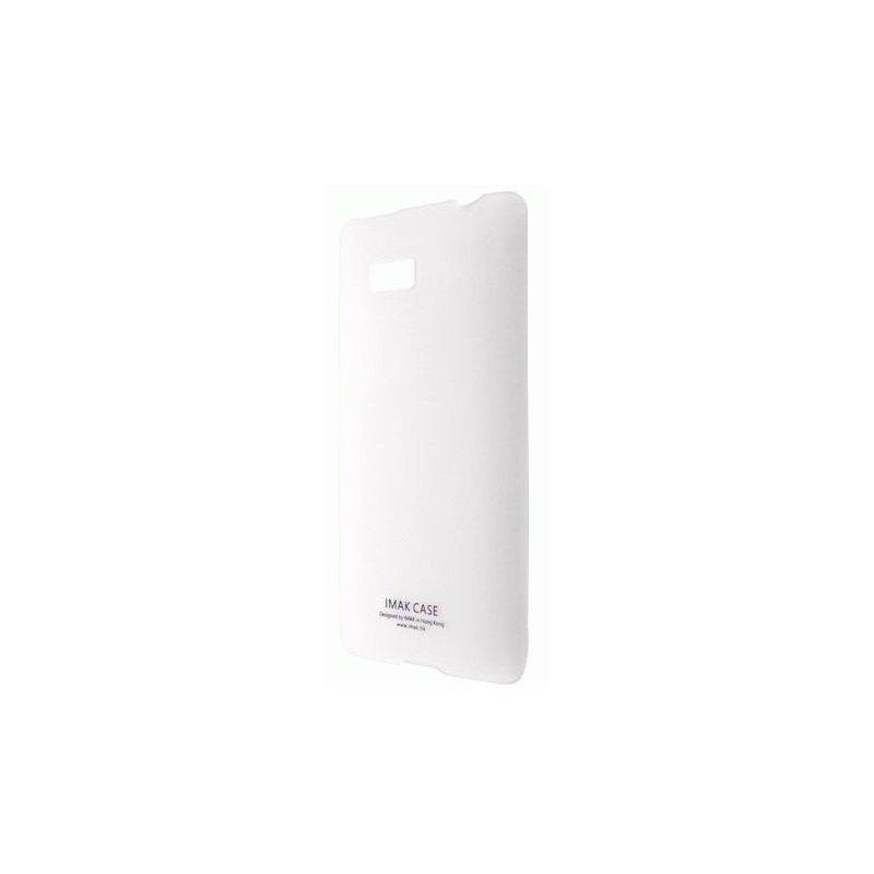 Пластиковая накладка IMAK Water Jade Series для HTC Desire 600 White