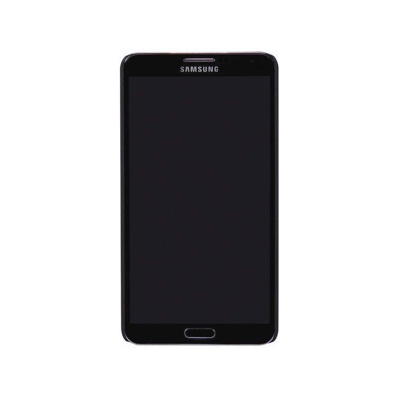 Пластиковая накладка Nillkin Super Frosted Shield для Samsung Note 3 N9000 Black