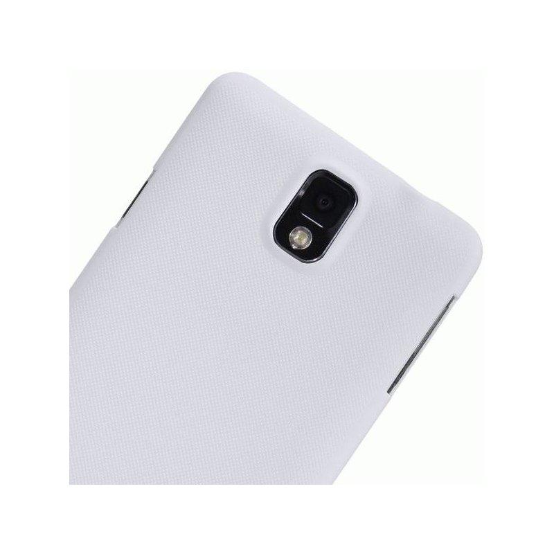 Пластиковая накладка Nillkin Super Frosted Shield для Samsung Note 3 N9000 White