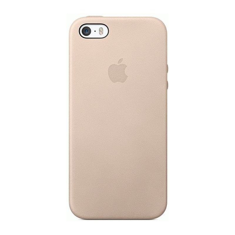 Чехол Apple iPhone 5s Leather Case Beidg (MF042)