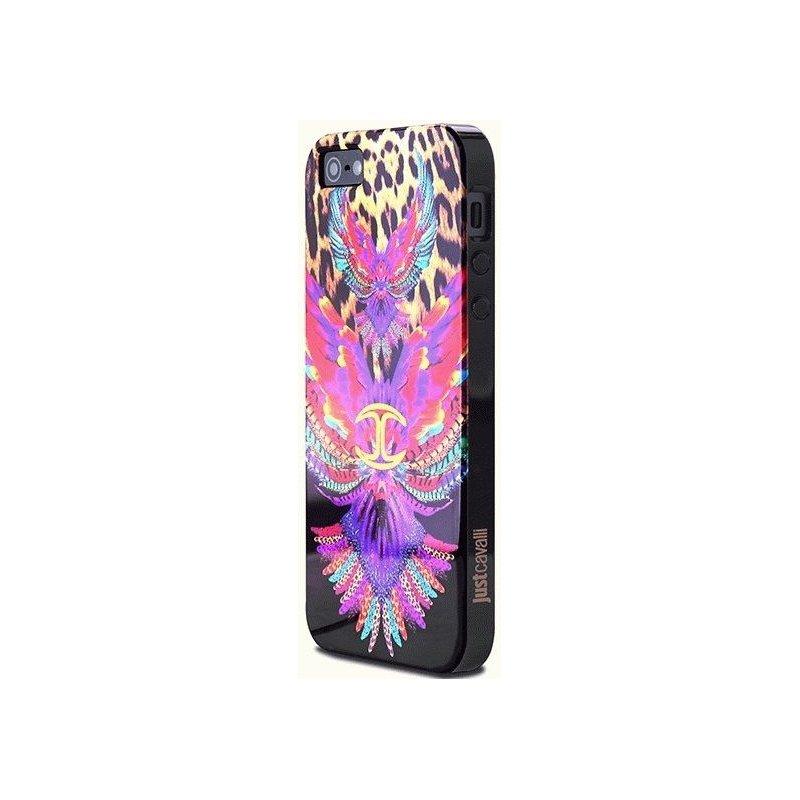 Puro Just Cavalli Wings накладка для iPhone 5/5S Black