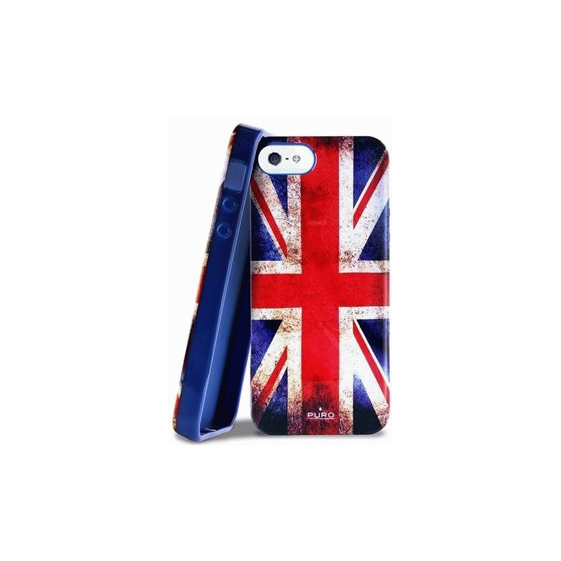 Puro Flag Britain накладка для iPhone 5/5S