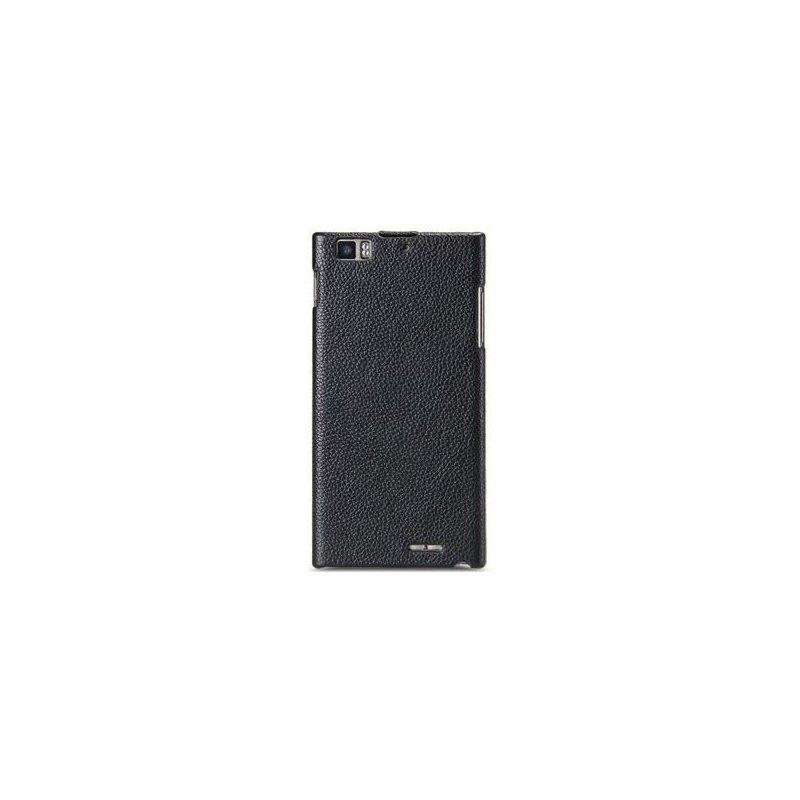 Кожаный чехол Melkco Flip (JT) для Lenovo K900 Black