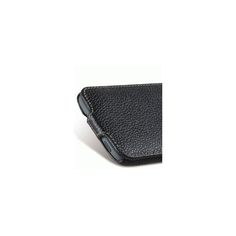 Кожаный чехол Melkco Flip (JT) для HTC Desire 601 Black