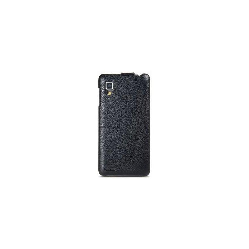 Кожаный чехол Melkco Flip (JT) для Lenovo P780 Black