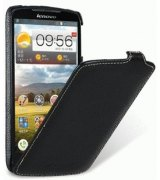 Кожаный чехол Melkco Flip (JT) для Lenovo S920 Black