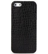 Кожаная накладка Tetded Wild Series для Apple iPhone 5/5S Black