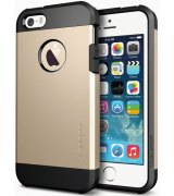 SGP iPhone 5/5S Case Tough Armor Champagne Gold (SGP10584)