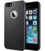 SGP iPhone 5/5s Case Ultra Thin Air A Smooth Black