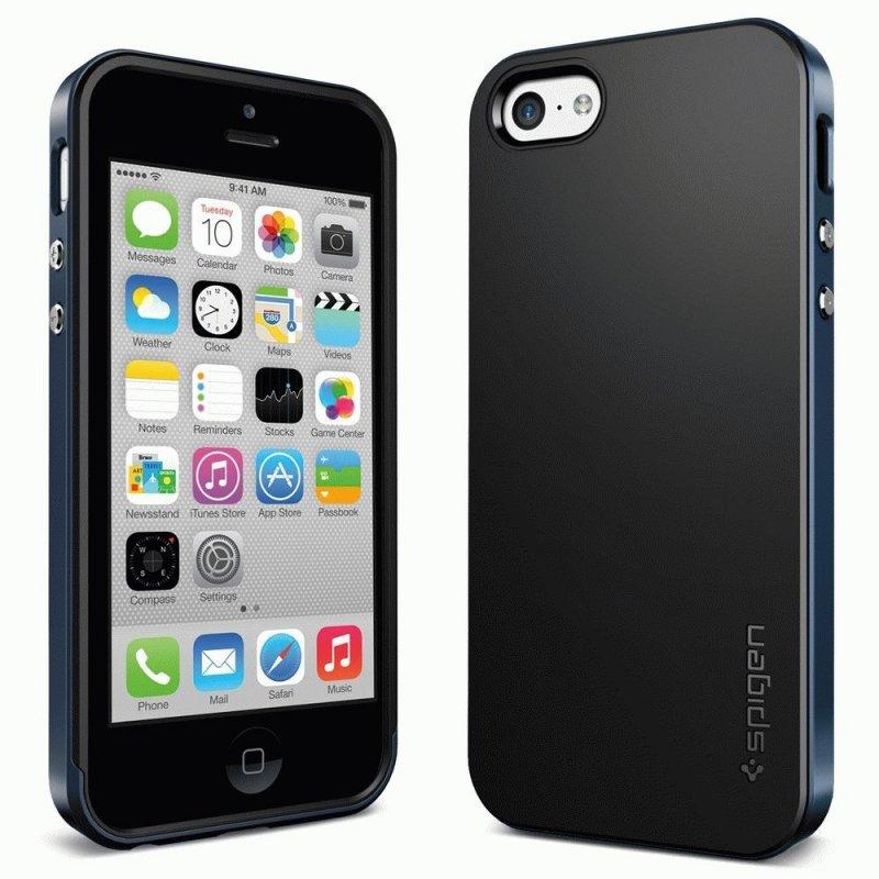 Накладка SGP Neo Hybrid для Apple iPhone 5c Metal Slate