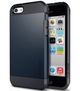 Накладка SGP Tough Armor для Apple iPhone 5c Metal Slate