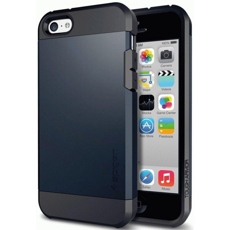 Накладка SGP Tough Armor для Apple iPhone 5c Metal Slate