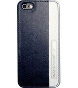 Накладка Aston Martin Racing для iPhone 5C Blue-White