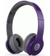 Beats by Dr. Dre Solo High Definition On Ear Headphone Purple (BTS-900-00064-03)