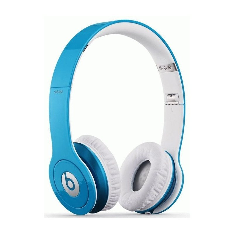 Beats by Dr. Dre Solo High Definition On Ear Headphone Light Blue (BTS-900-00065-03)