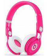 Beats by Dr. Dre Mixr David Guetta On Ear Headphone Limited Edition Pink (BTS-900-00098-03)