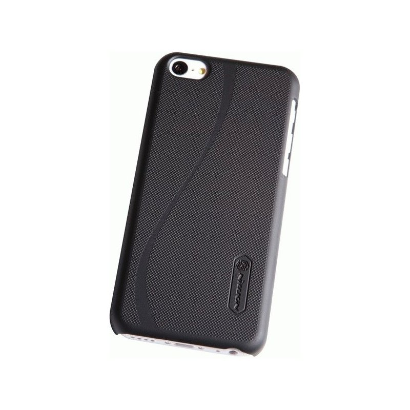 Пластиковая накладка Nillkin Super Frosted Shield для Apple iPhone 5C Black