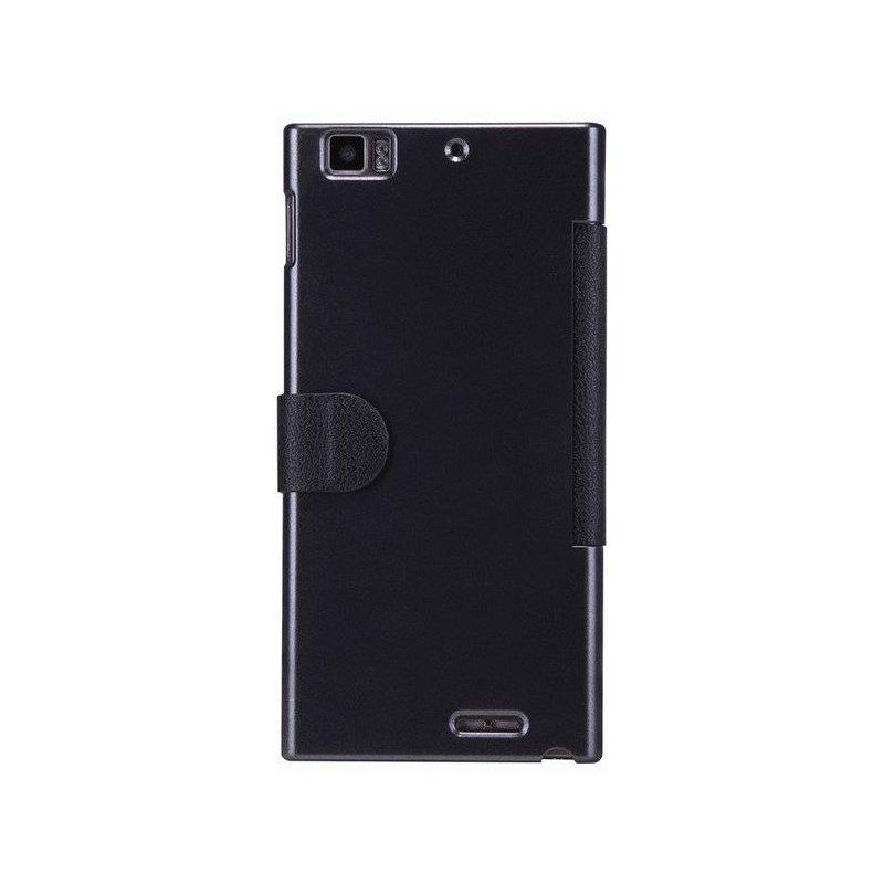 Кожаный чехол Nillkin Fresh Leather Case для Lenovo K900 Black