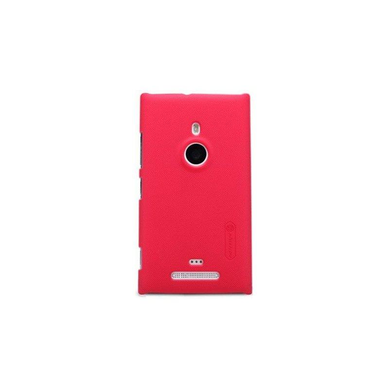 Пластиковая накладка Nillkin Super Frosted Shield для Nokia Lumia 925 Red