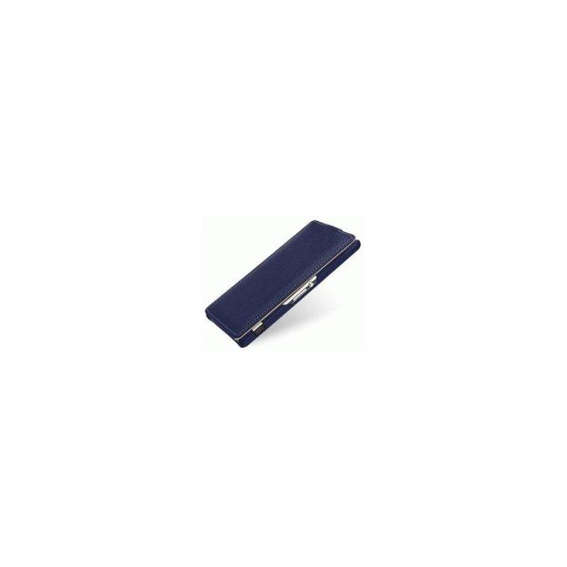 Кожаный чехол Tetded Flip для Sony Xperia Z1 Blue