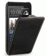 Кожаный чехол Tetded Flip для HTC Desire 601 Black