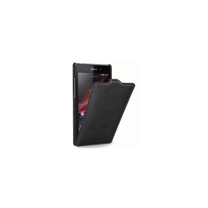 Кожаный чехол Tetded Flip для Sony Xperia Z1 Back