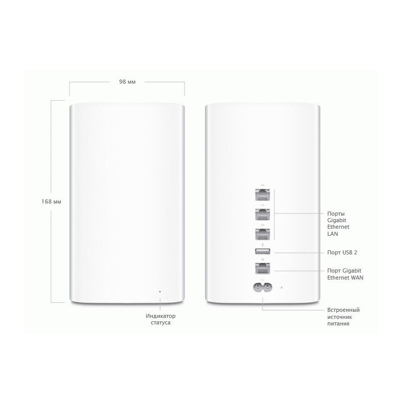 Apple AirPort Time Capsule 2 TB (ME182)