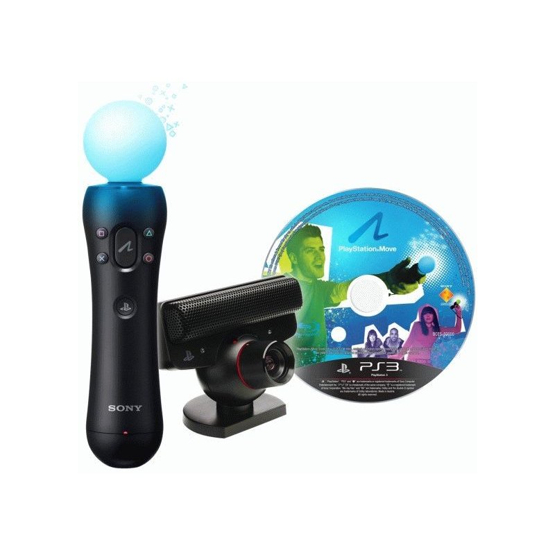 Sony PlayStation 3 Super Slim 500Gb + PlayStation Move + PlayStation Eye + Gran Turismo 5 + Sports Champions 2