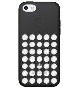 Чехол Apple iPhone 5c Case Black (MF040ZM/A)