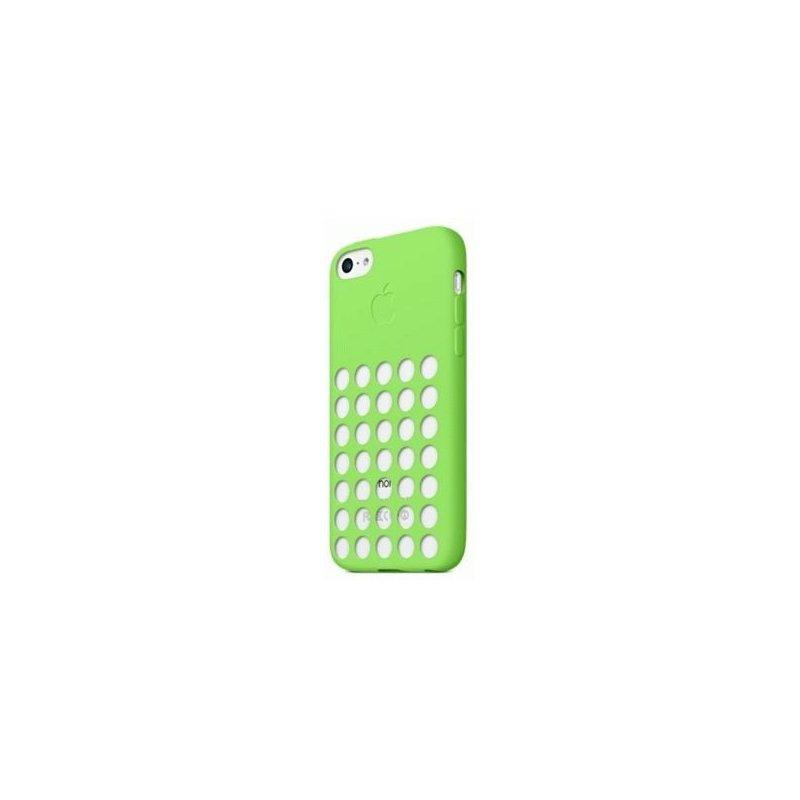 Чехол Apple iPhone 5c Leather Case Green (MF037)