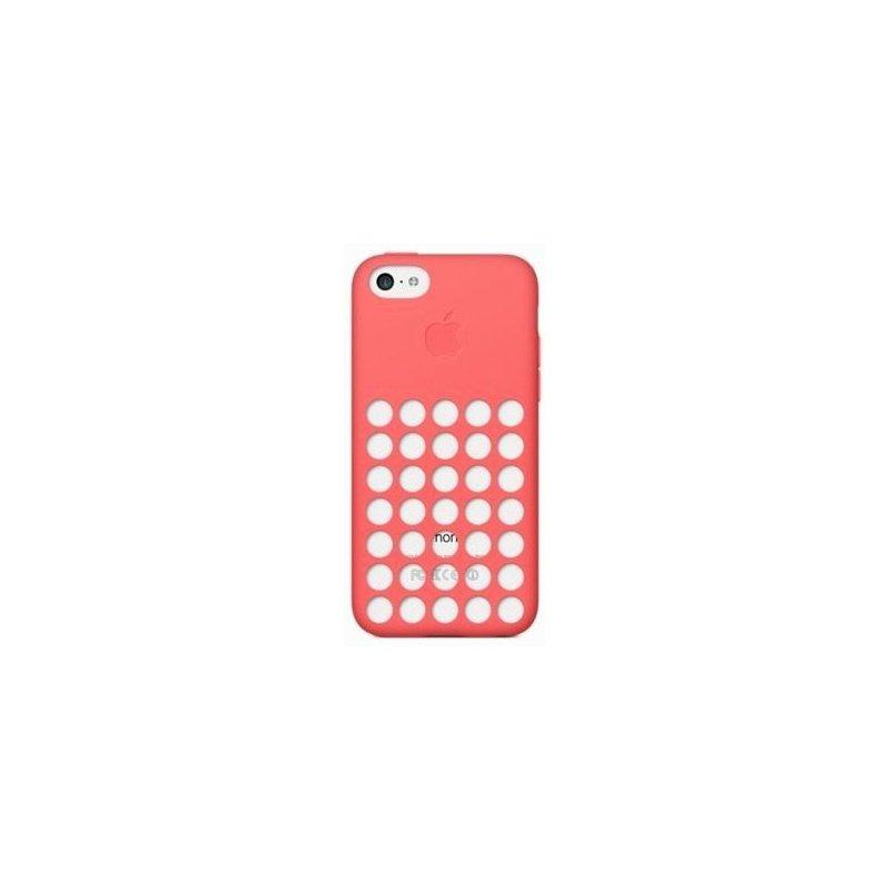 Чехол Apple iPhone 5c Leather Case Pink (MF036)