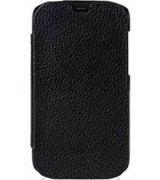 Кожаный чехол Melkco Face Cover Book для HTC Desire X T328e Black
