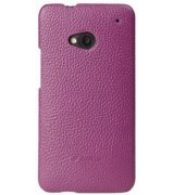 Чехол Melkco Leather Snap Cover для HTC One 801e Purple